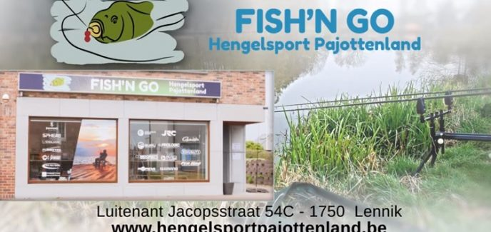 hengelsport pajottenland fish and go